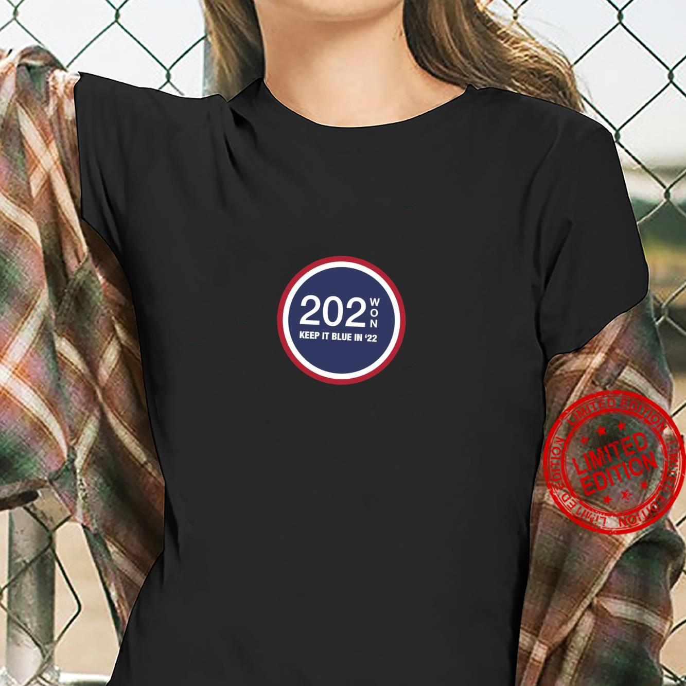 202WON, KEEP IT BLUE IN '22 Shirt ladies tee
