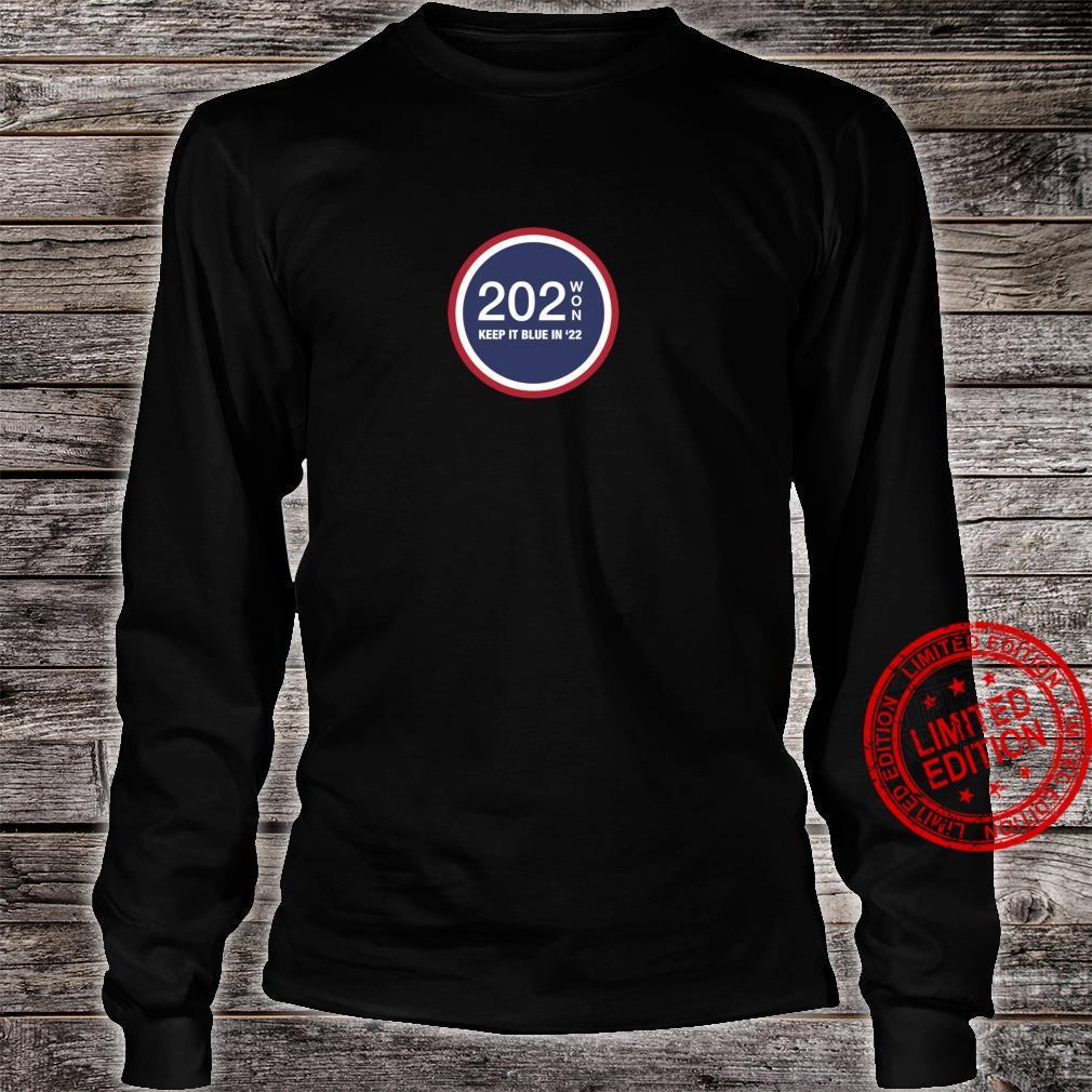 202WON, KEEP IT BLUE IN '22 Shirt long sleeved