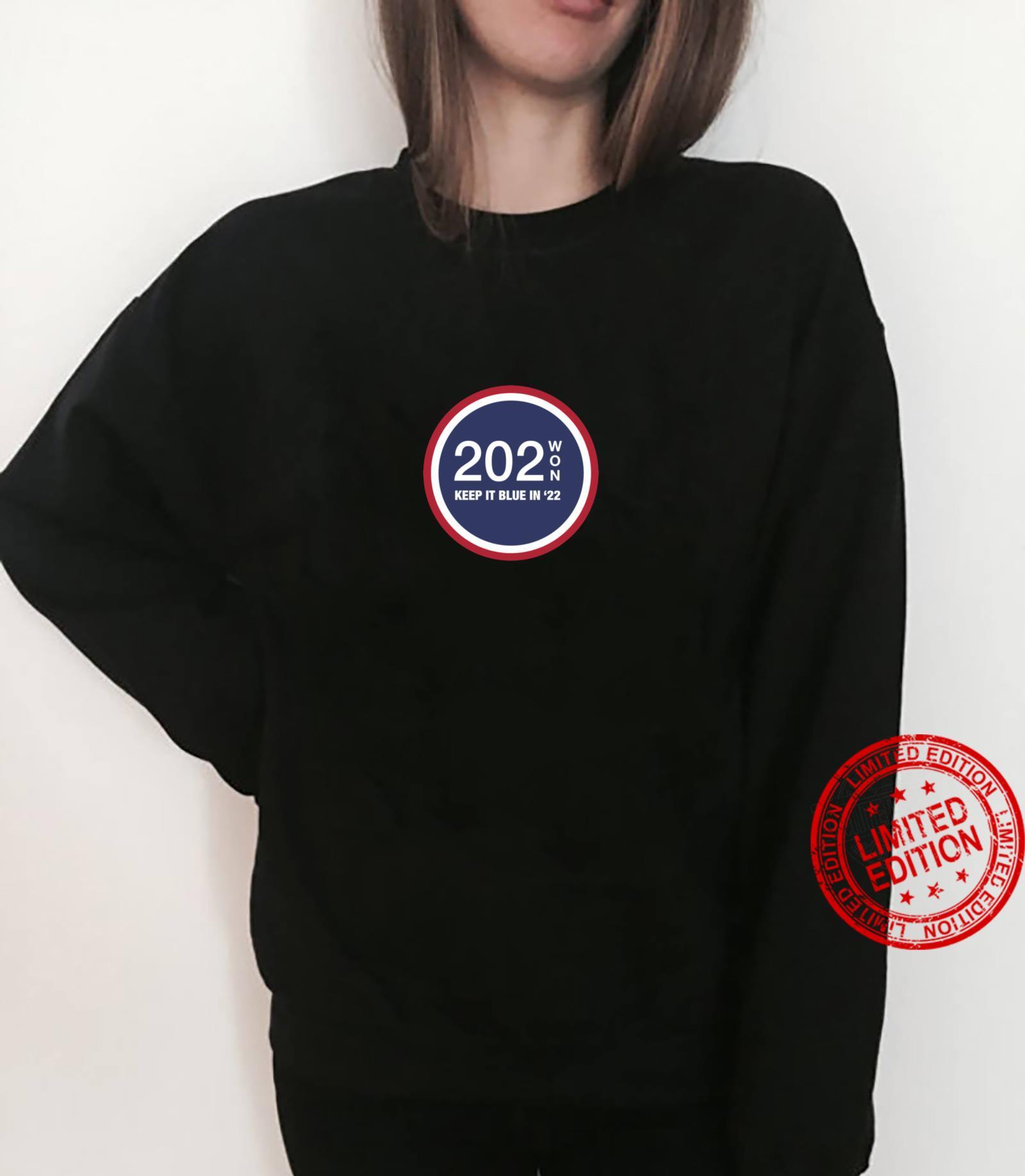 202WON, KEEP IT BLUE IN '22 Shirt sweater