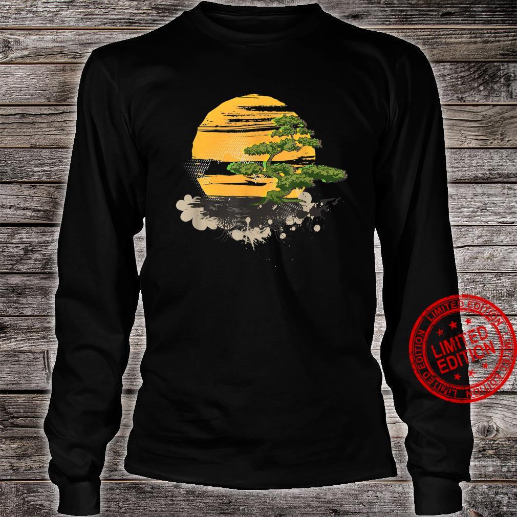 Bonsai Tree Japanese Zen Master Shirt long sleeved