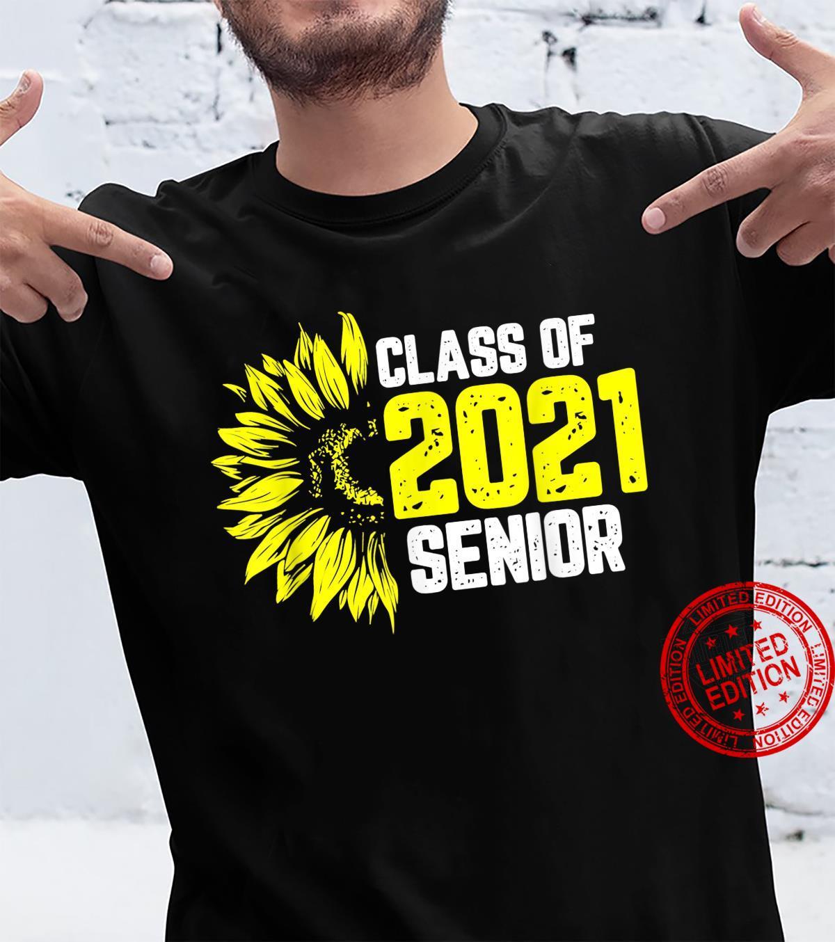 Class Of 2021 Senior High School College Graduation Shirt