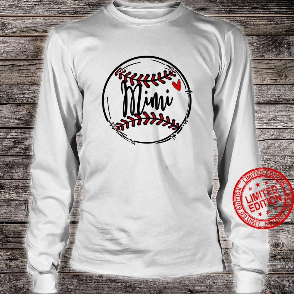Cute Ball Mimi Sports Happy Mothers Day Shirt long sleeved