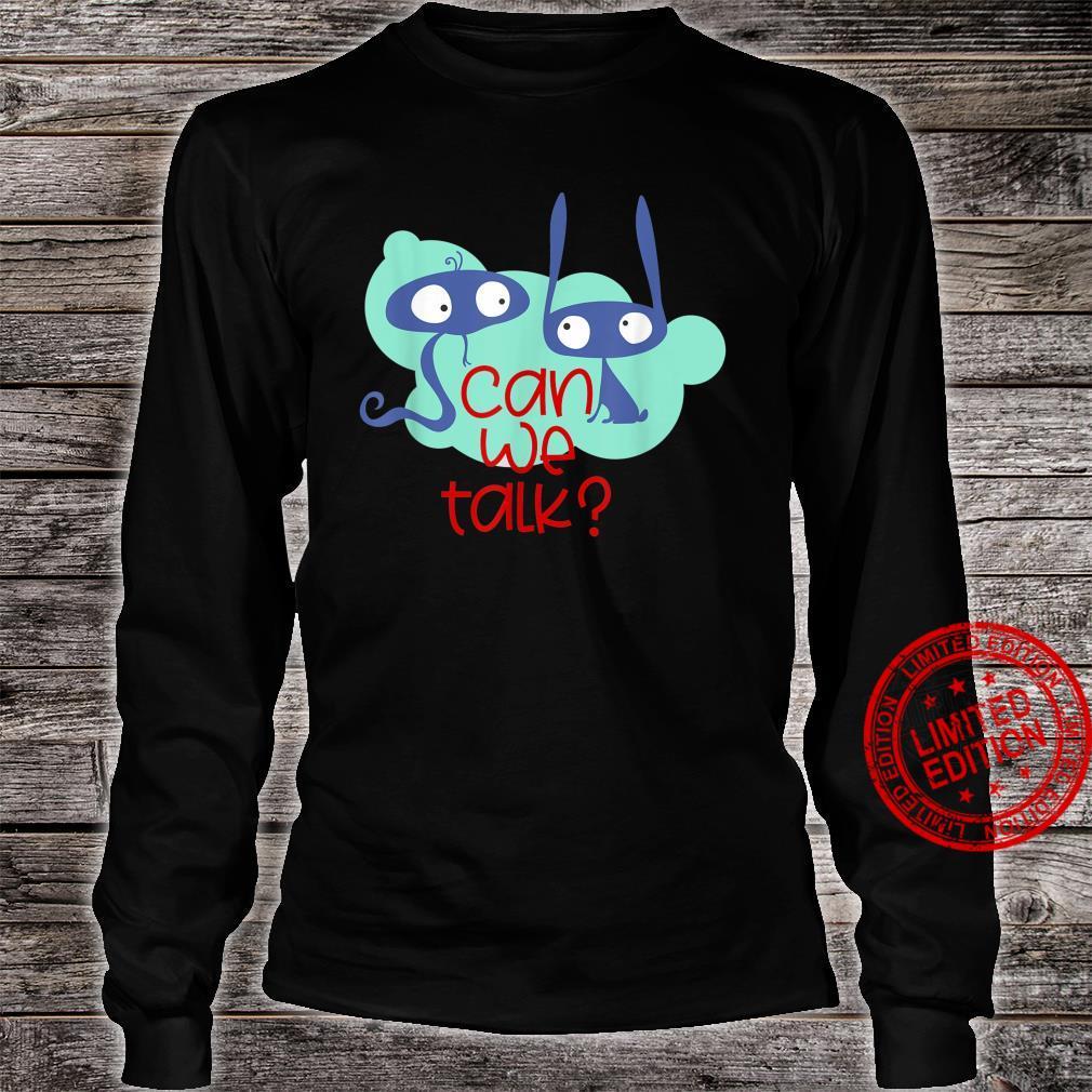Fantasy Animals Can we talk 1 Fan Fun Shirt long sleeved