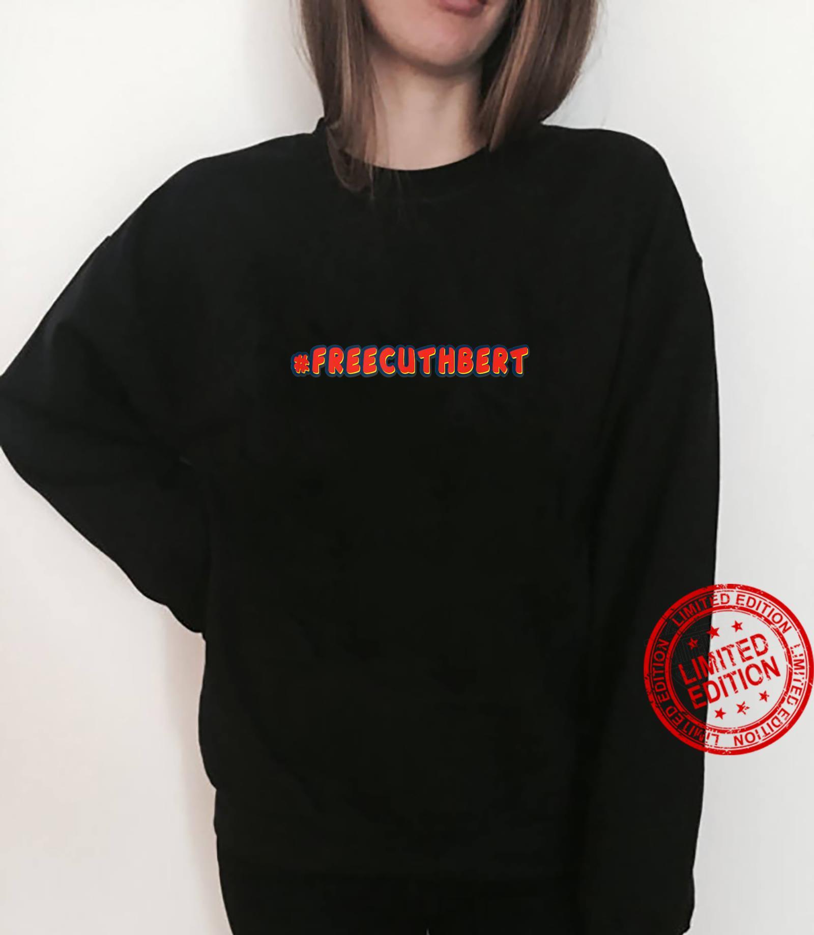 Free Cuthbert Caterpillar hashtag Shirt sweater