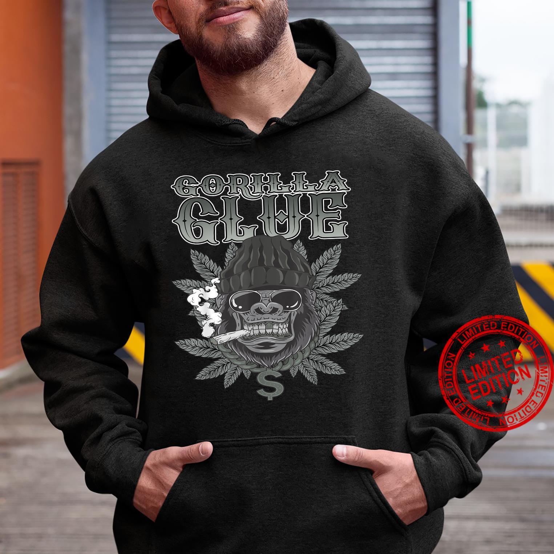 Gorillas Glue Strain Marijuana Glue Hybrid Shirt hoodie
