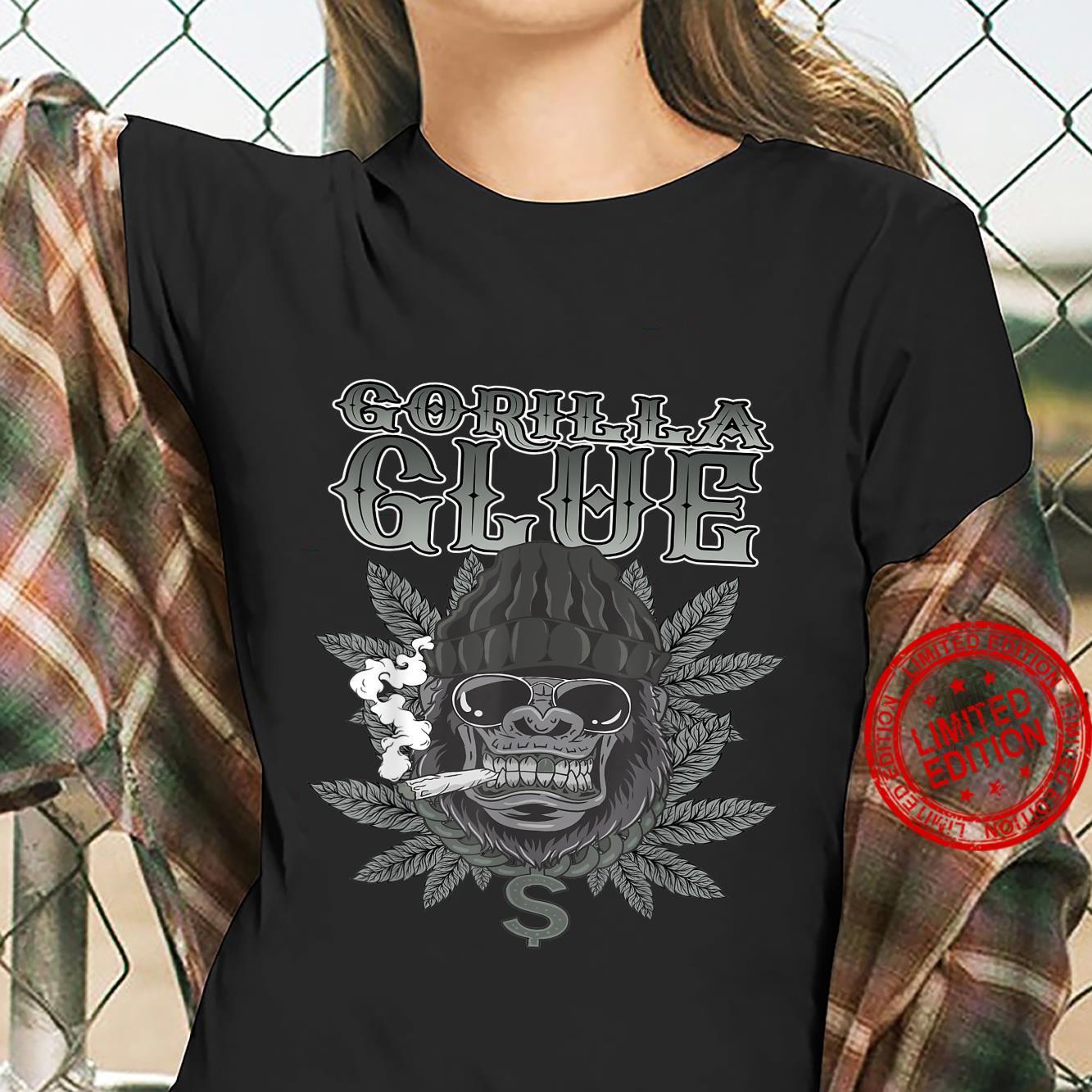 Gorillas Glue Strain Marijuana Glue Hybrid Shirt ladies tee