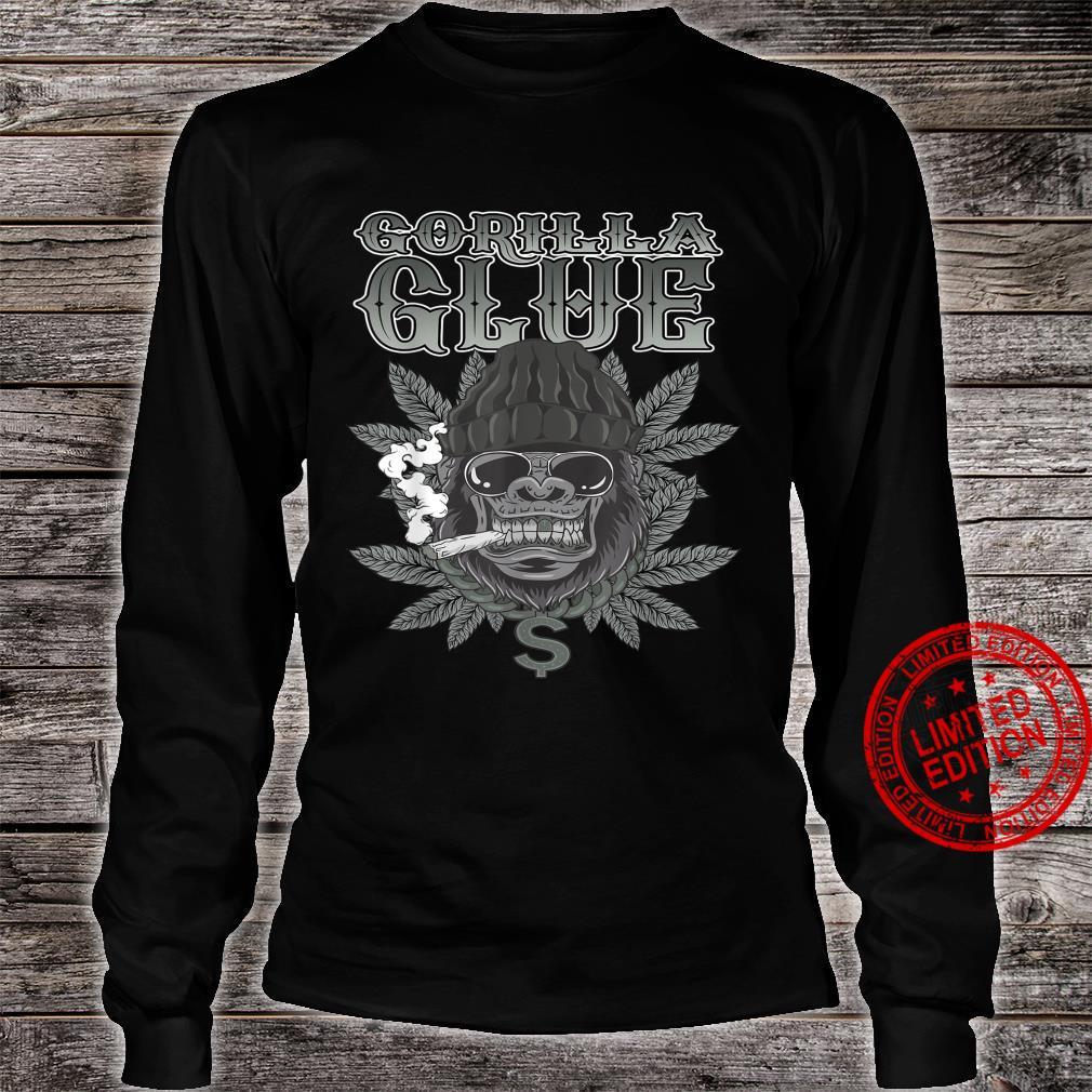 Gorillas Glue Strain Marijuana Glue Hybrid Shirt long sleeved