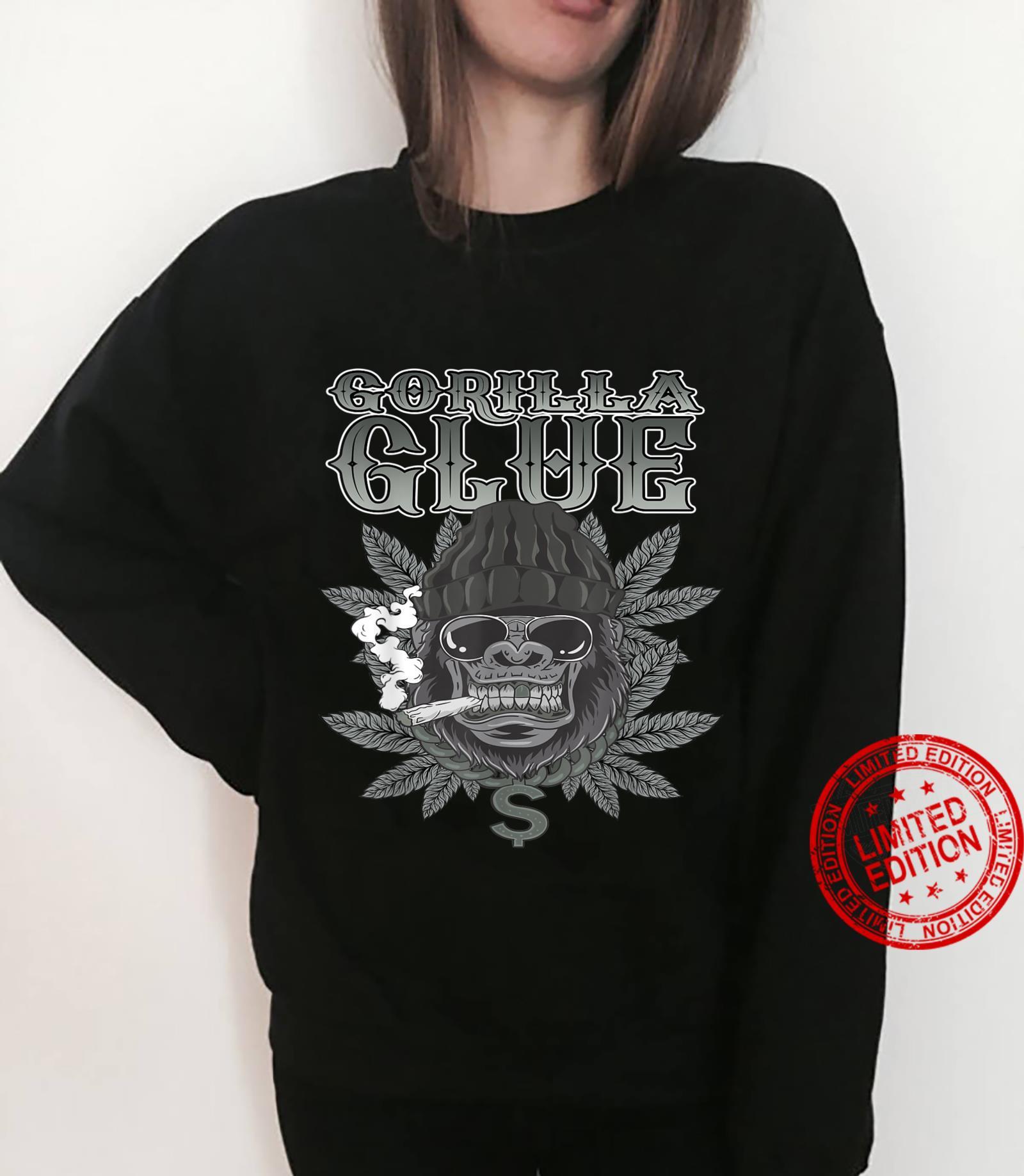 Gorillas Glue Strain Marijuana Glue Hybrid Shirt sweater