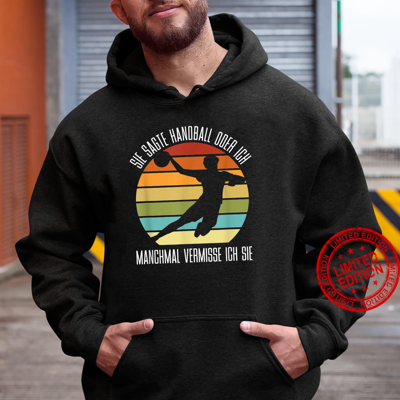 Handball Player – Handball Handballer Shirt hoodie