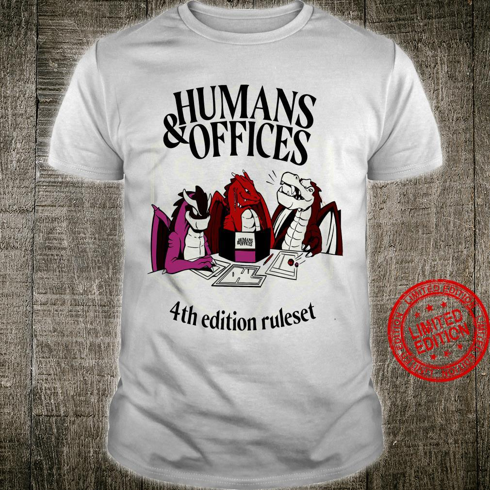 Humans & Offices 4th Edition Ruleset Shirt
