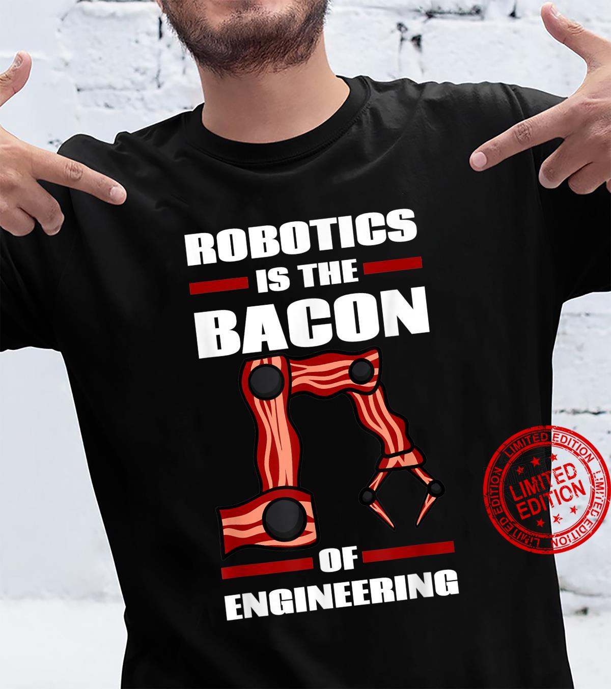 I Build Robots Robotics Engineer Roboticist Science Shirt