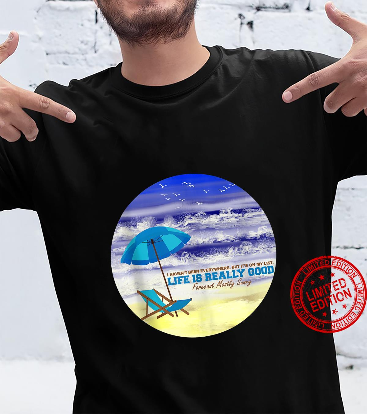 Life Is Really Good Summer Beach Vacation Shirt
