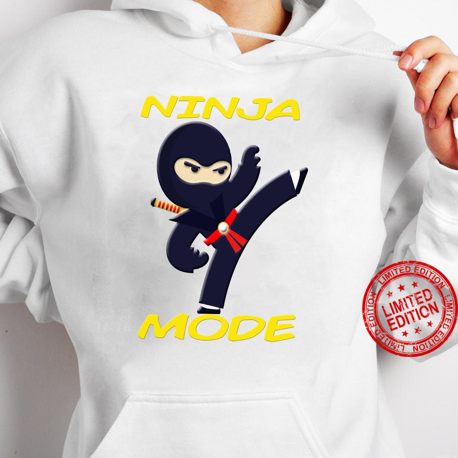 Ninja Fighter ist für Kinder zum Geburtstag Shirt hoodie