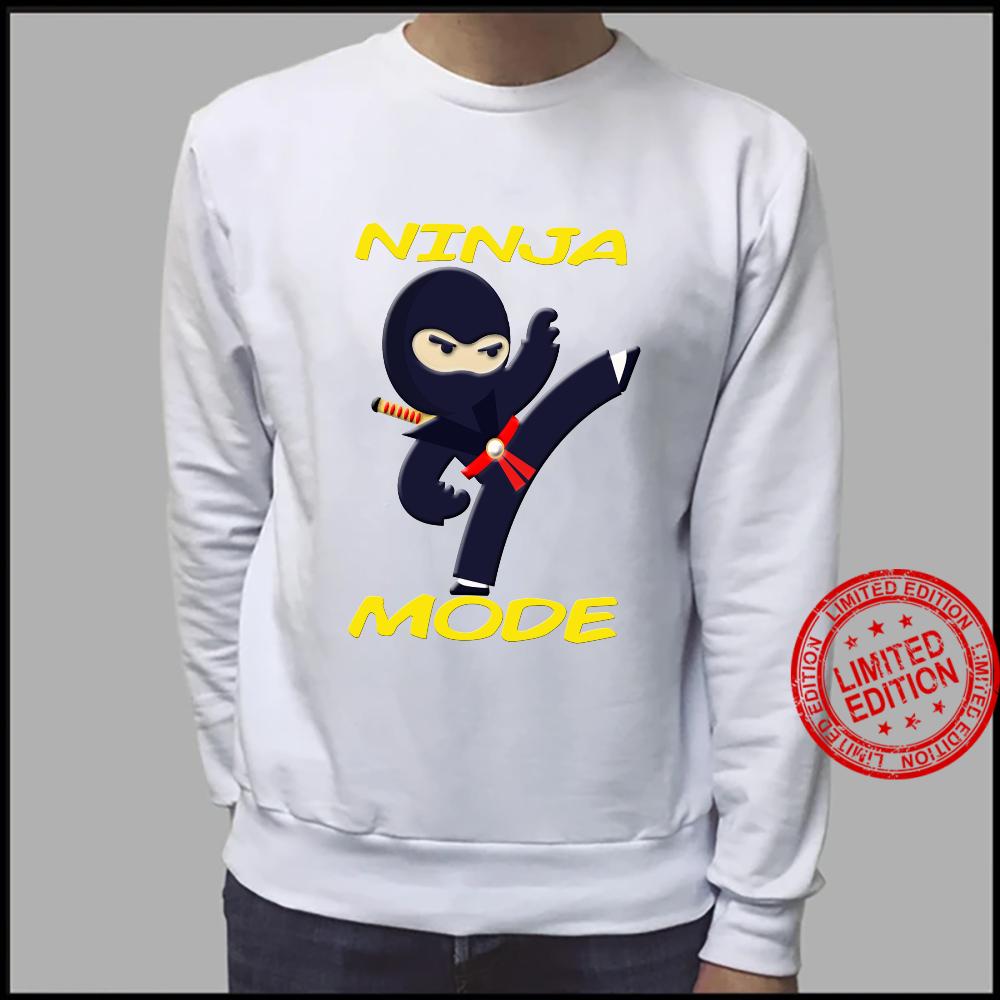 Ninja Fighter ist für Kinder zum Geburtstag Shirt sweater