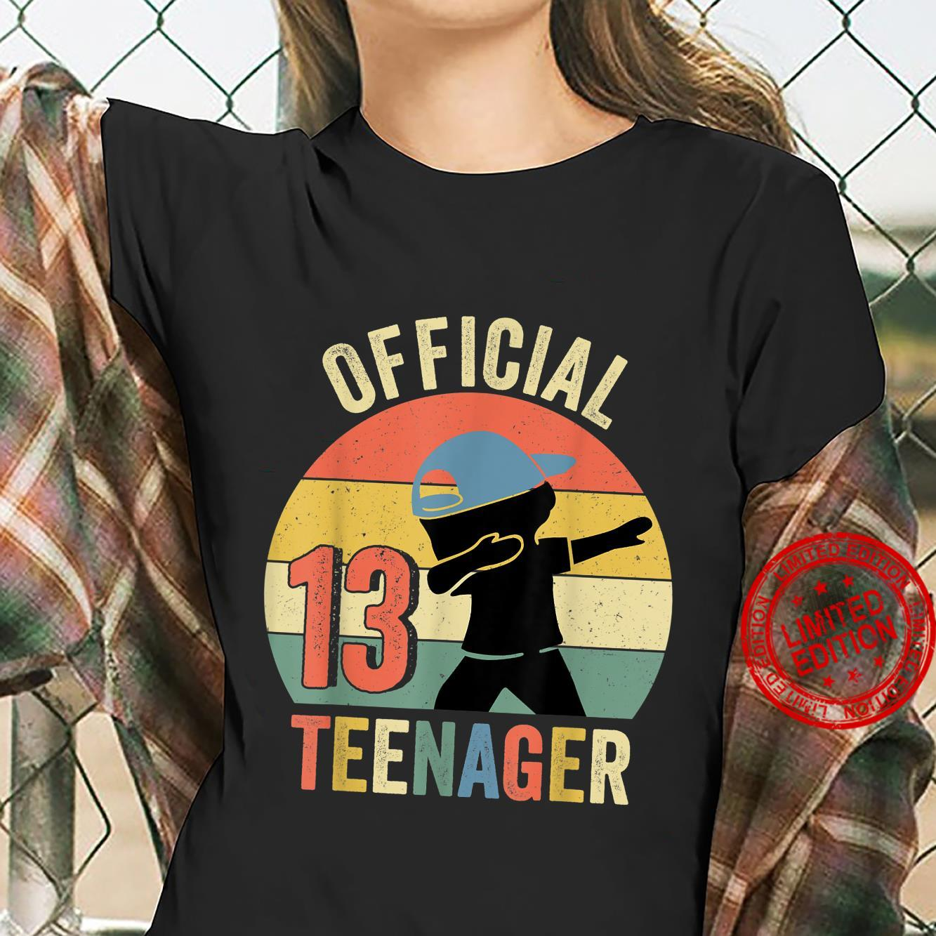 Officialnager Vintage 13th Birthday 13 Years Shirt ladies tee