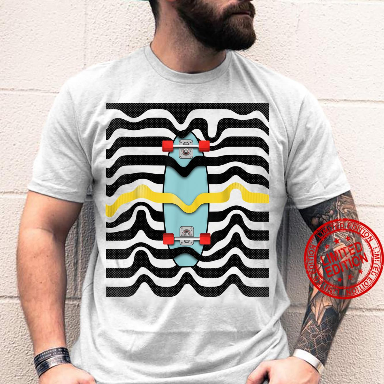 Retro Skateboard pop art Shirt
