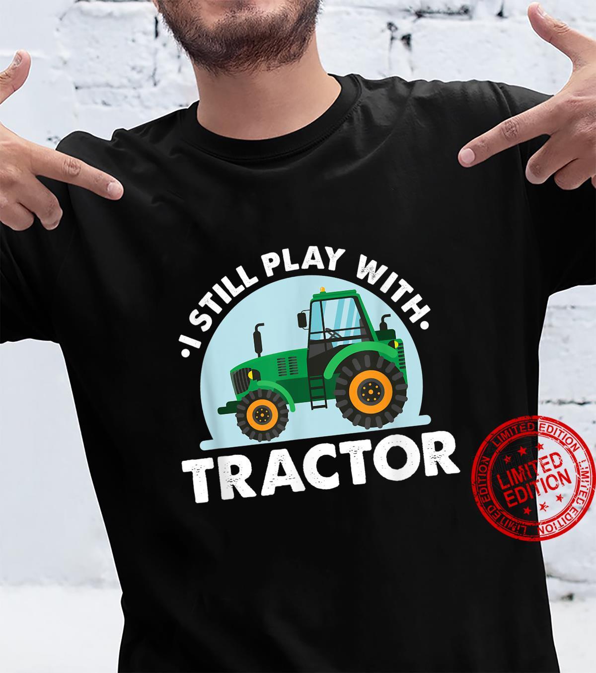 Spiele Mit Traktor Landwirt Bauer Agrar Acker Geschenk Shirt