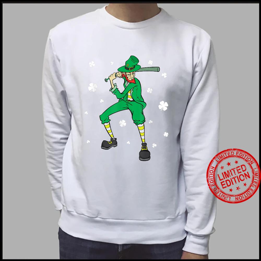 St Patrick's Day Baseball Player Leprechaun Shirt sweater