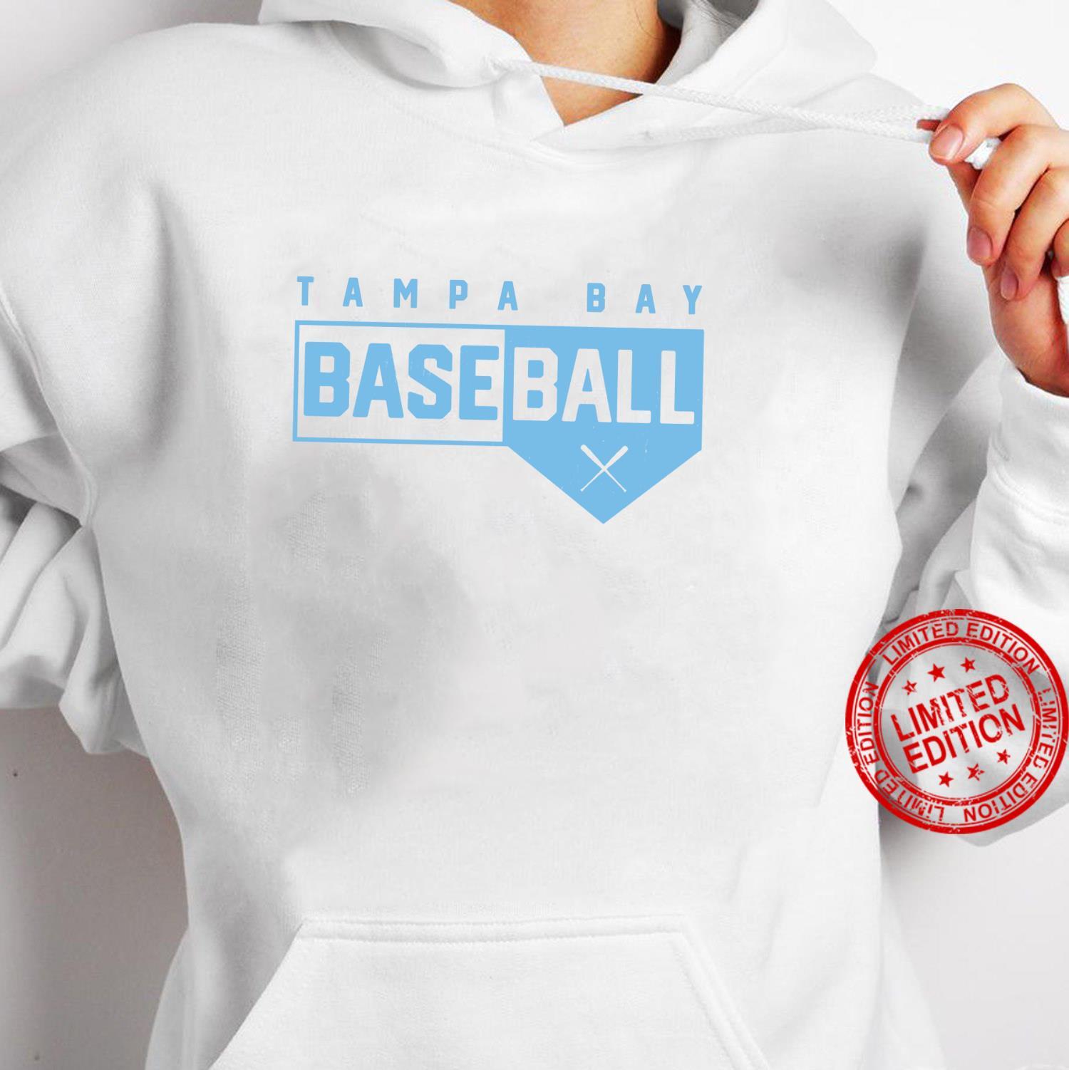 Tampa Bay Baseball Classic Home Plate Design Shirt hoodie