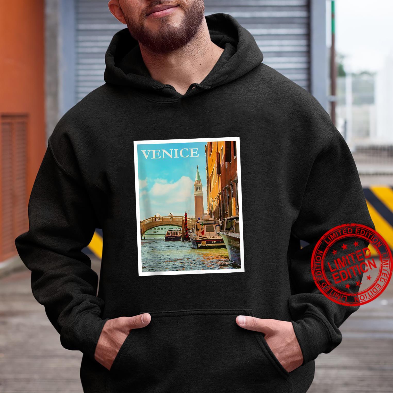 Venice Venetian Canals Gondola Boats Italy Veneto Shirt hoodie