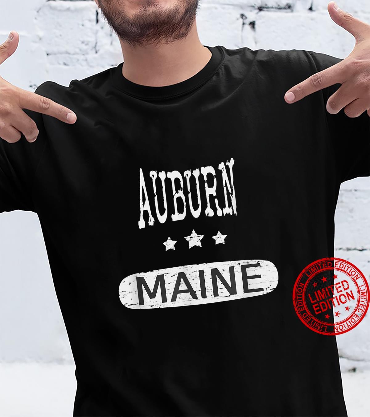 Vintage Auburn Maine Shirt