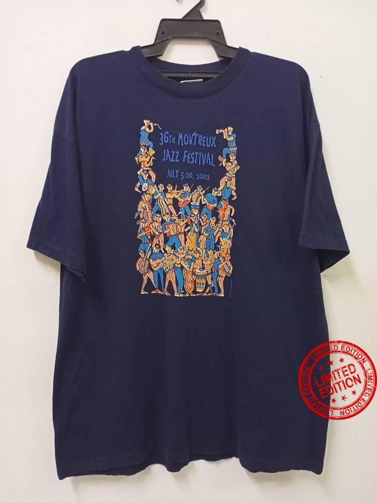 Vintage MOUNTREUX JAZZ FESTIVAL Shirt