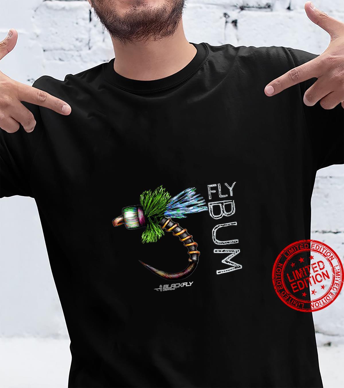 Womens Fly Fishing Apparel Caddis Midge Flies by Black Fly Shirt