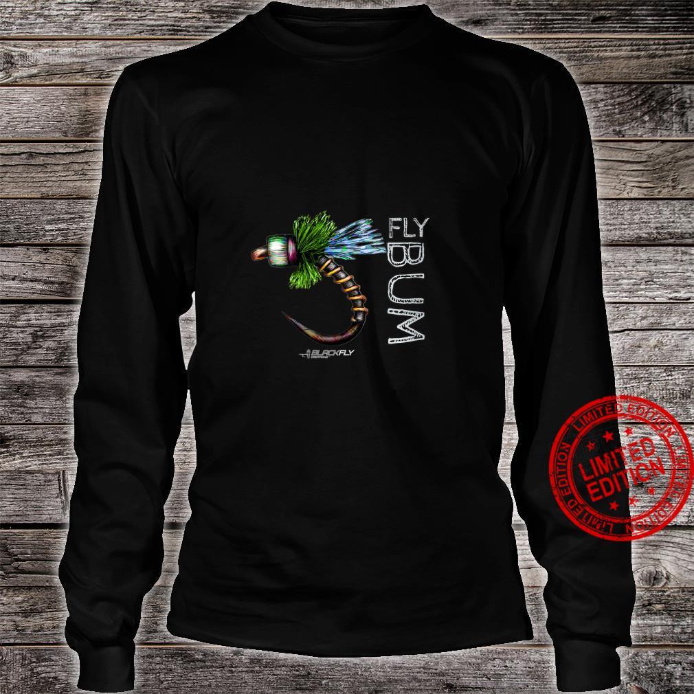Womens Fly Fishing Apparel Caddis Midge Flies by Black Fly Shirt long sleeved