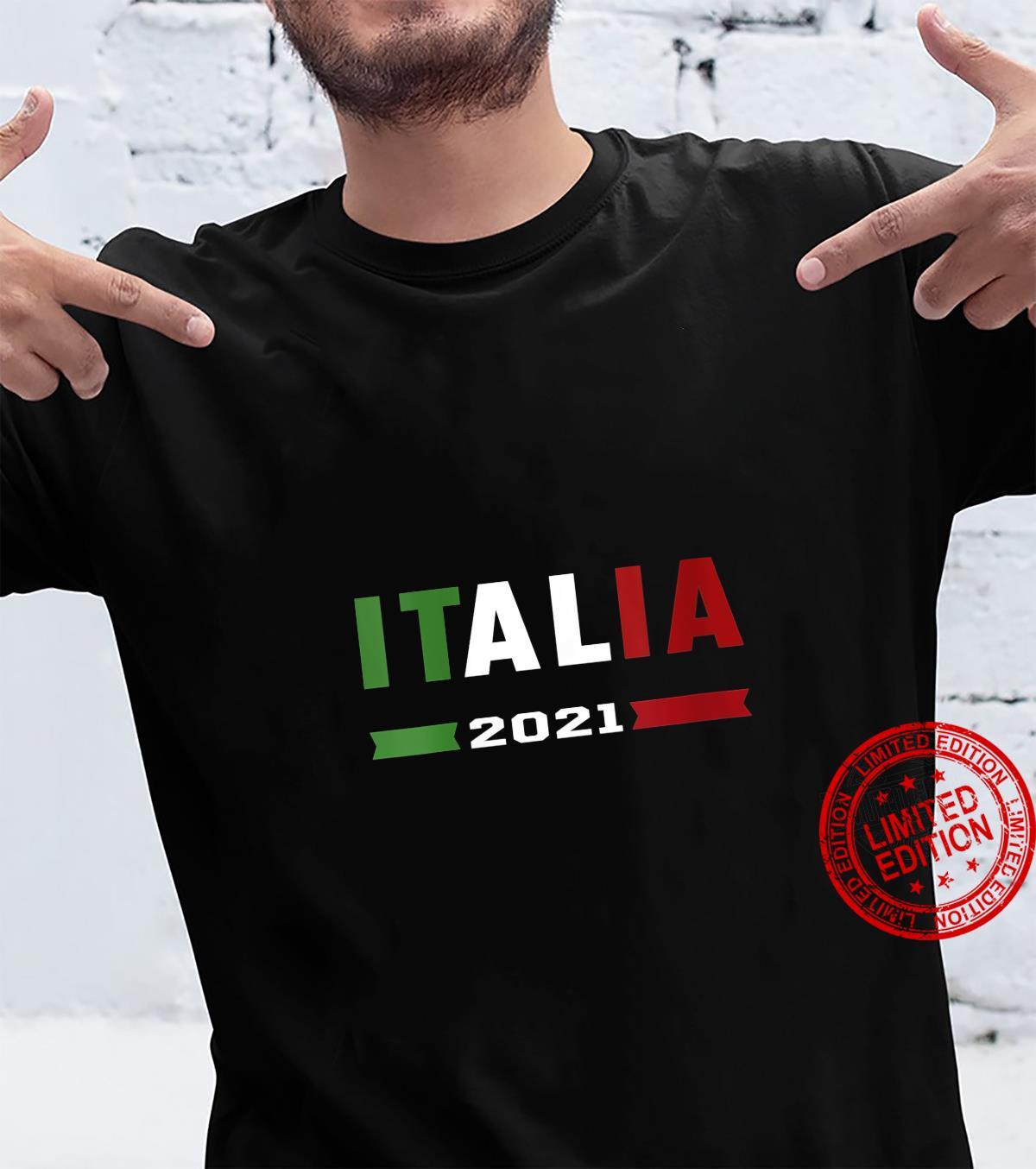 Womens Italy Football Italian Flag Italia 2021 Shirt