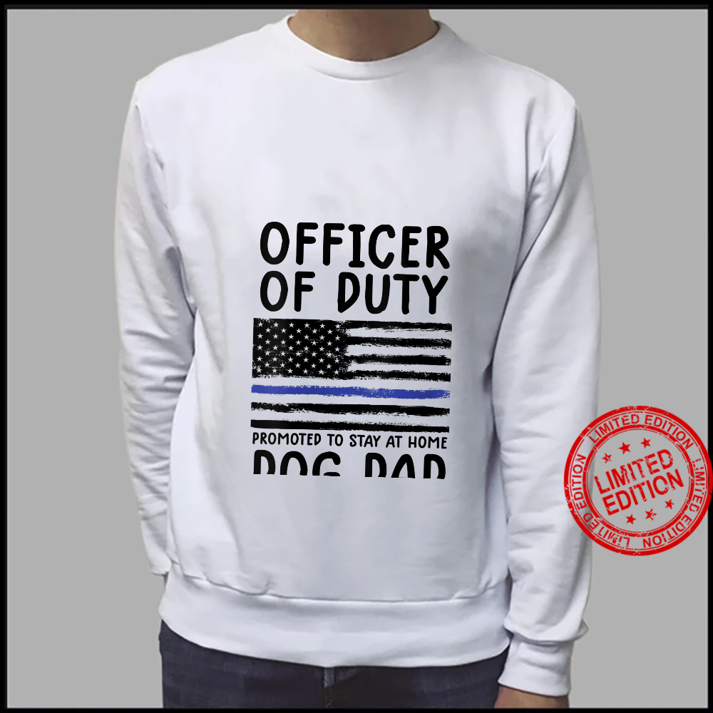 Womens police officer off duty shirt police retirement shirt sweater