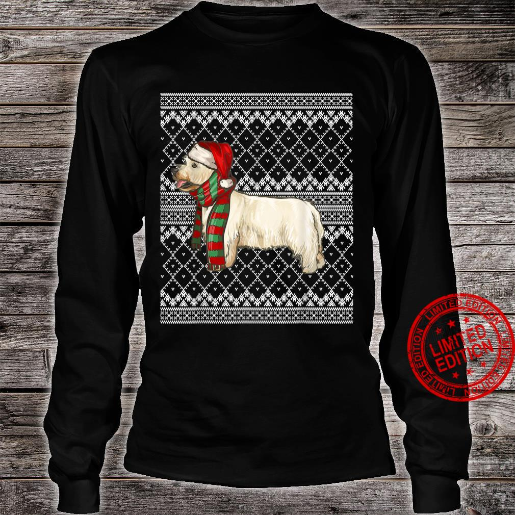 Xmas West Highland White Terrier Santa Claus Ugly Christmas Shirt long sleeved
