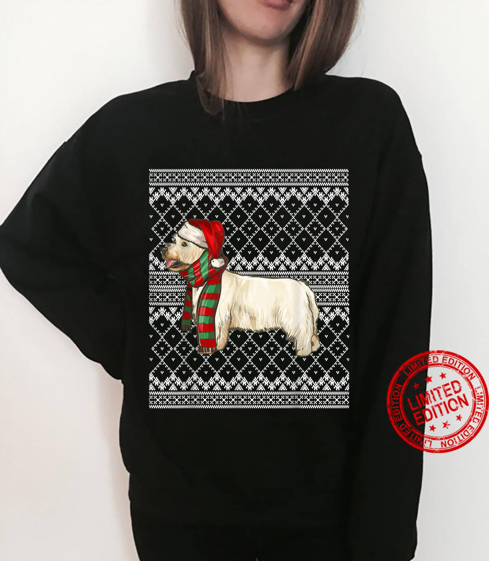 Xmas West Highland White Terrier Santa Claus Ugly Christmas Shirt sweater