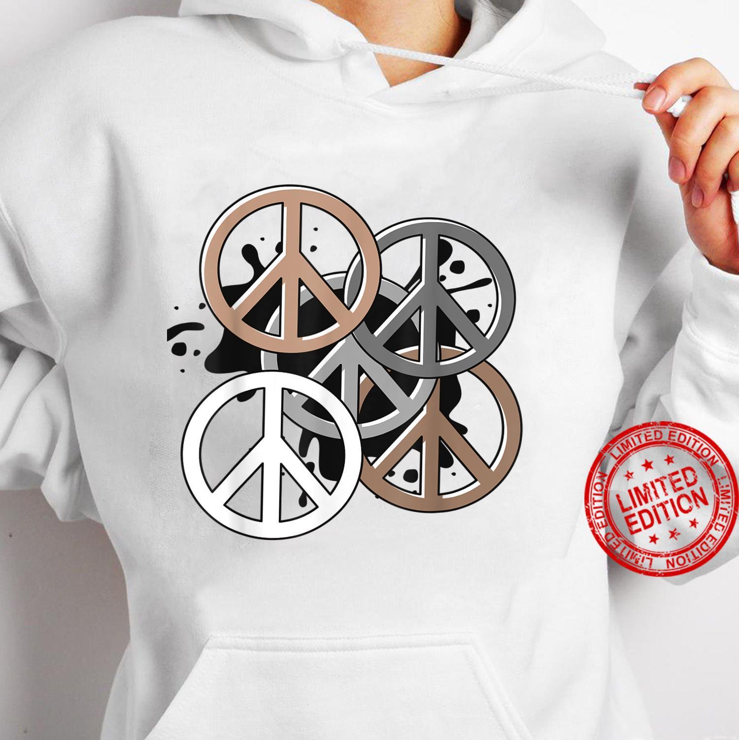 Yoga Peace sign Shirt hoodie