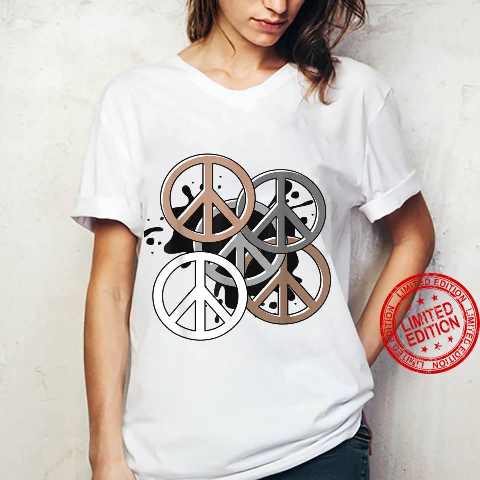 Yoga Peace sign Shirt ladies tee