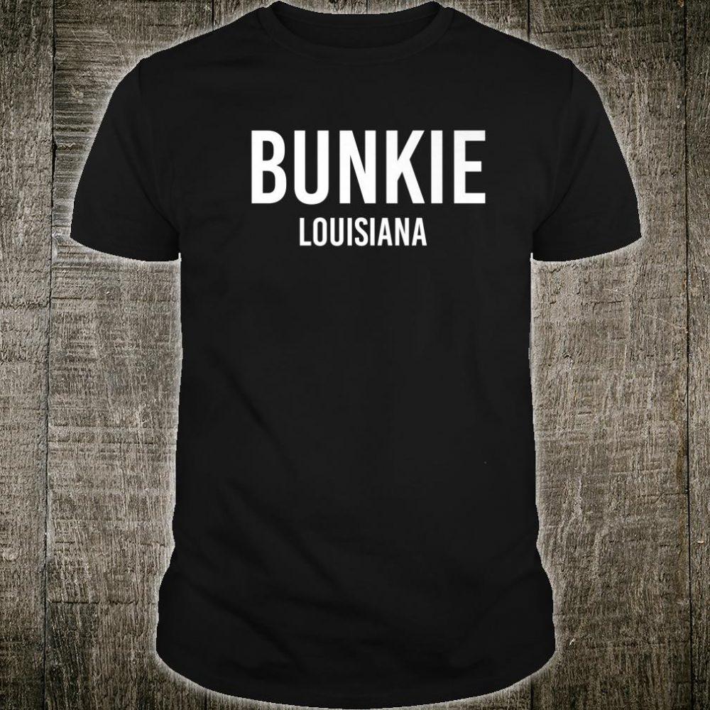 BUNKIE LOUISIANA LA USA Patriotic Vintage Sports Shirt