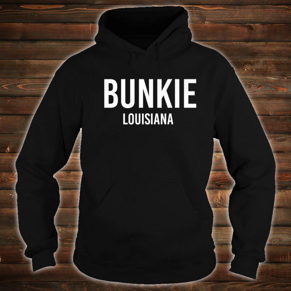 BUNKIE LOUISIANA LA USA Patriotic Vintage Sports Shirt hoodie
