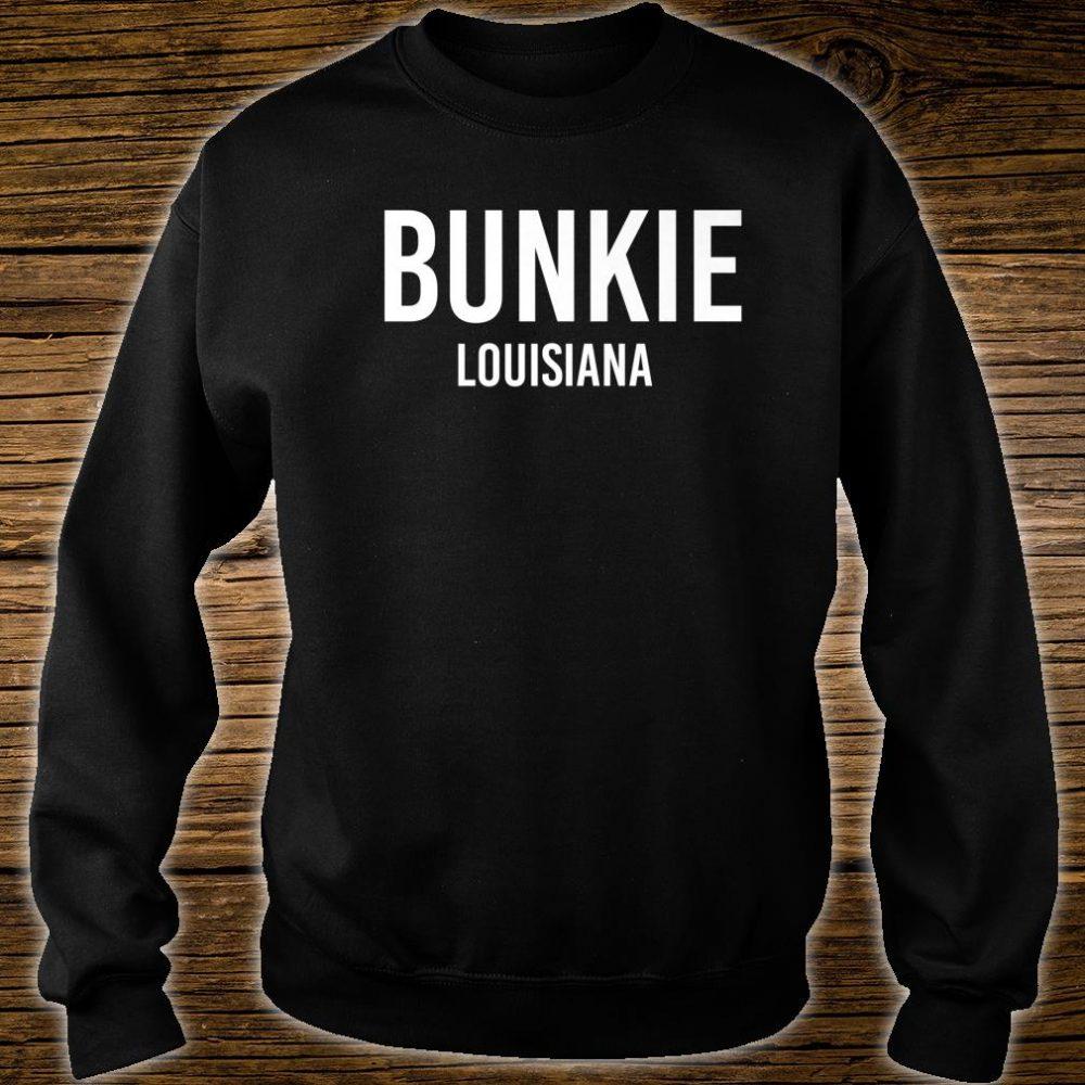 BUNKIE LOUISIANA LA USA Patriotic Vintage Sports Shirt sweater