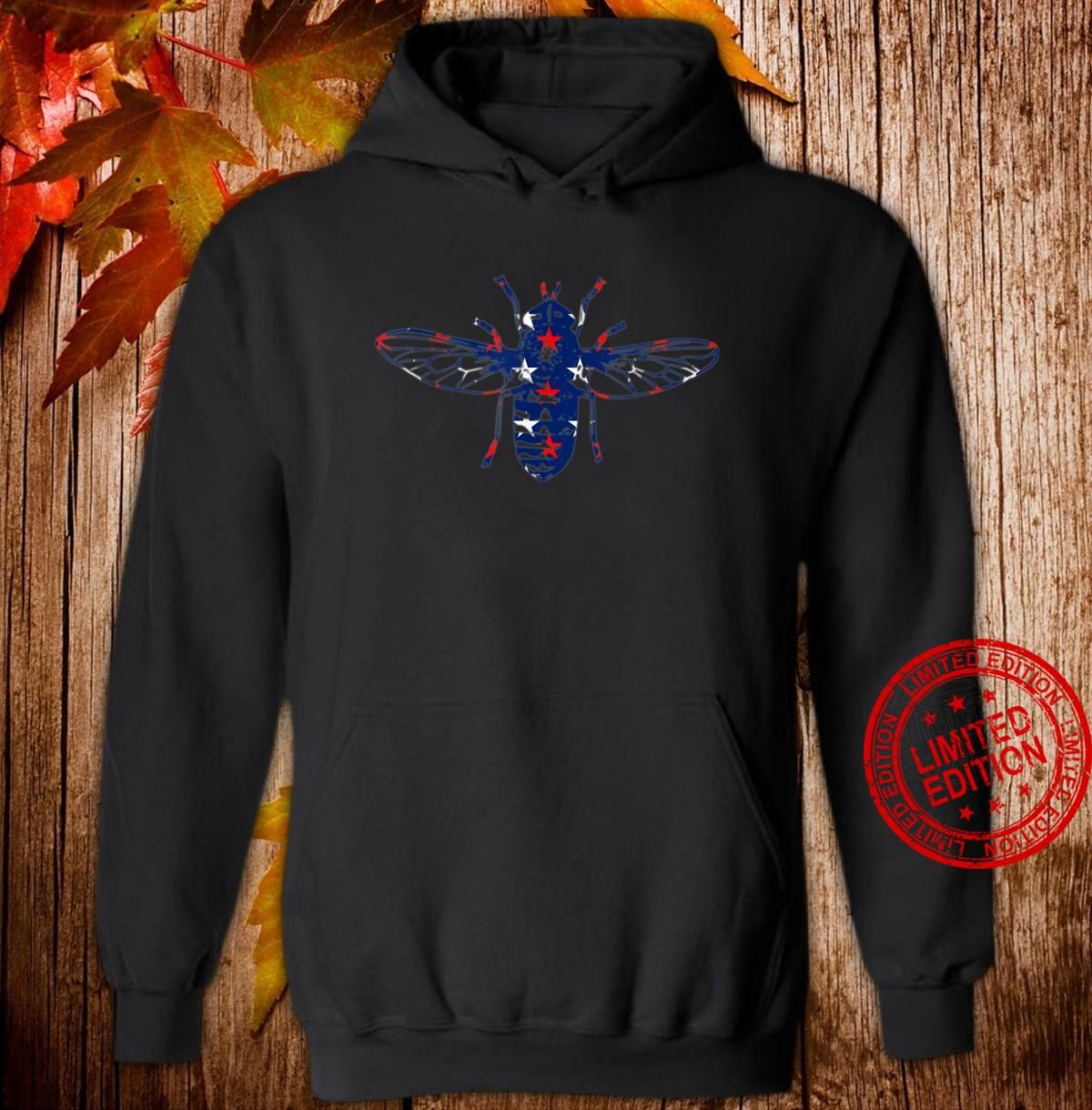 Back the Fly Red White and Blue stars Shirt hoodie