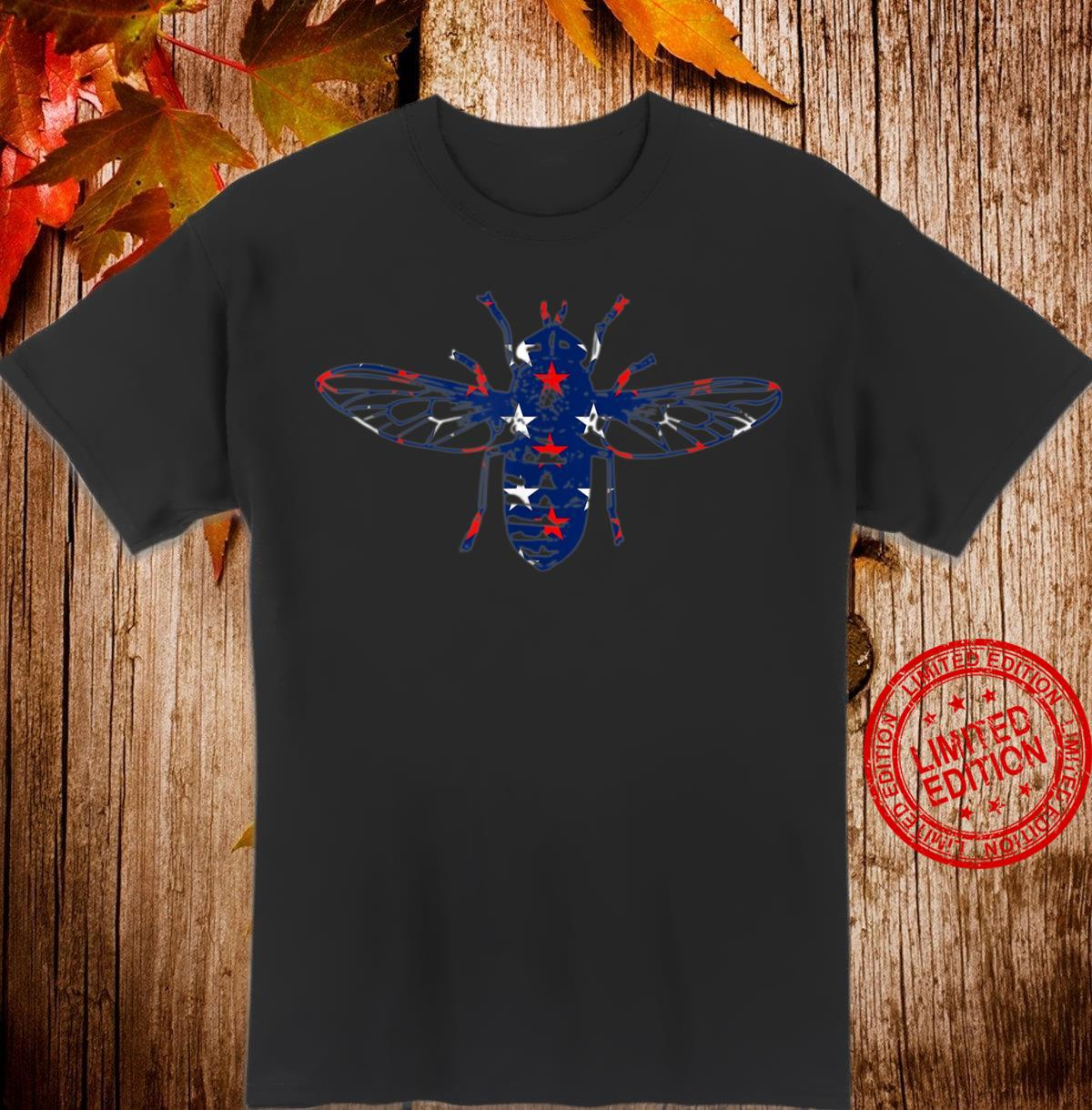 Back the Fly Red White and Blue stars Shirt