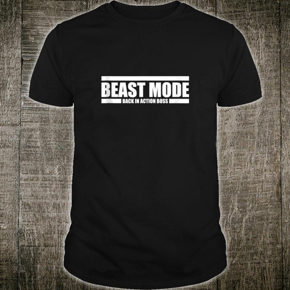 Beast Back In Action Mode Boss Seattle Fan Shirt