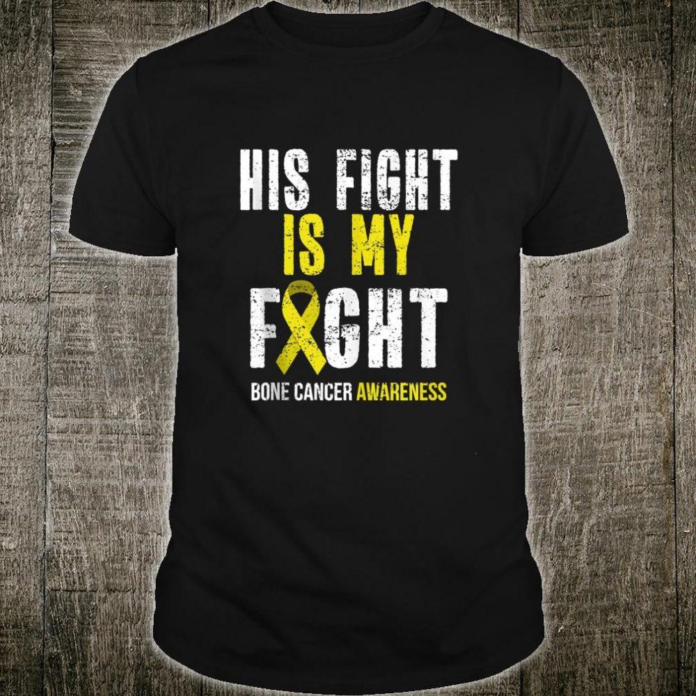 Bone Cancer Awareness Survivor Yellow Ribbon Shirt