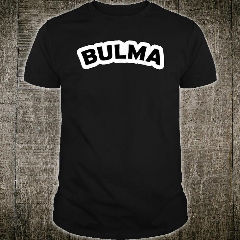 Bulma Cosplay Anime Character Shirt