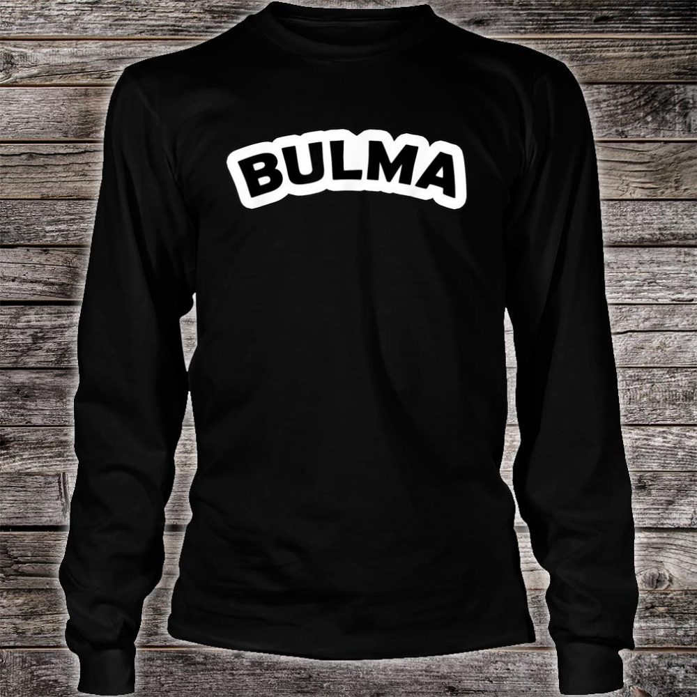 Bulma Cosplay Anime Character Shirt long sleeved