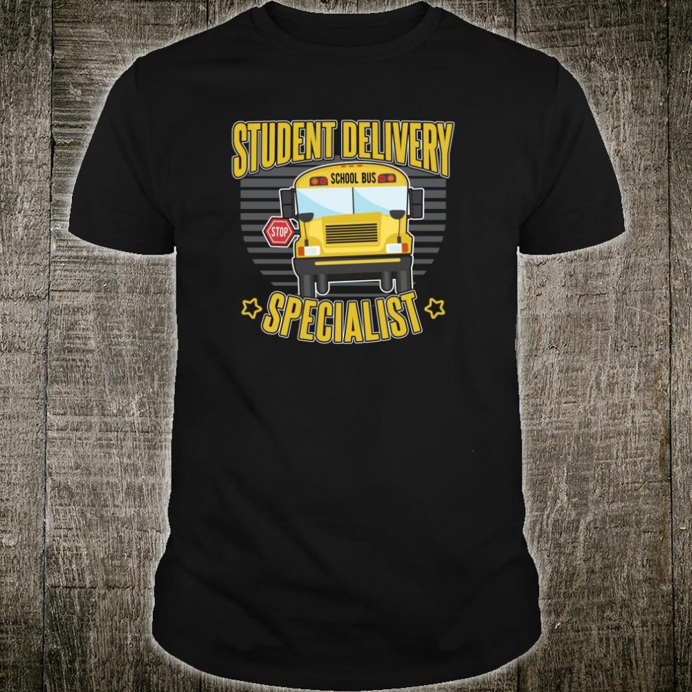 Bus Driver for a real School Bus Driver Shirt