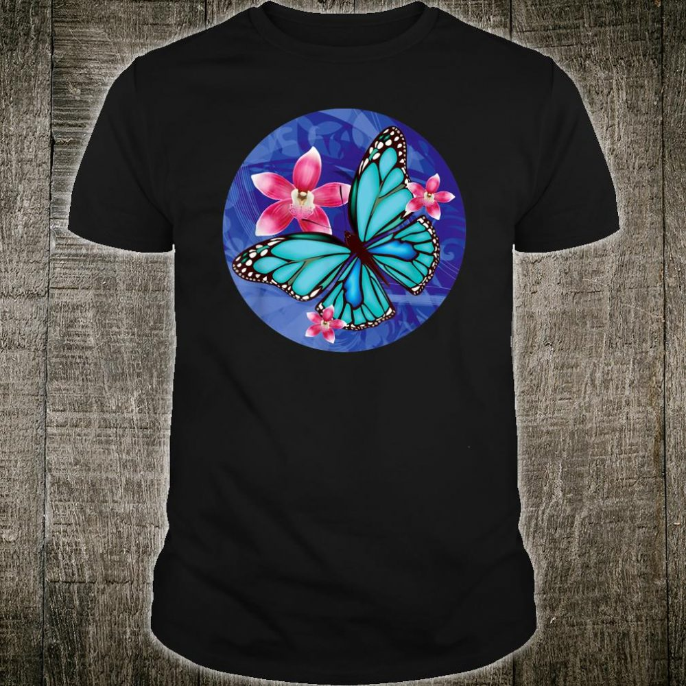 Butterfly For Loved Ones Beautiful Blue Butterflies Shirt