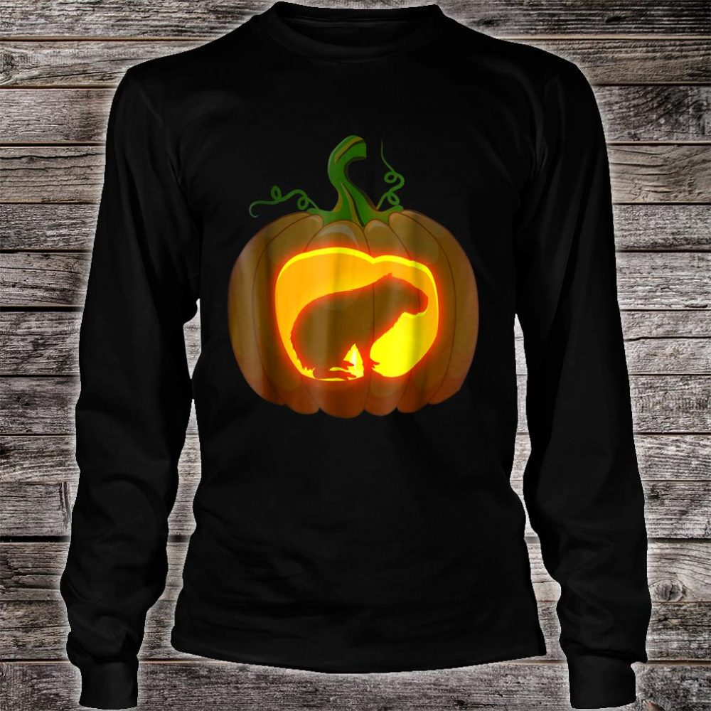 Capybara Halloween shirt long sleeved