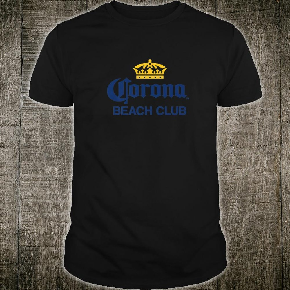 Cerveza Corona Logo With Crown Shirt