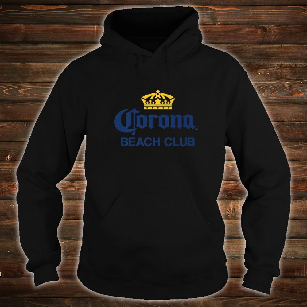 Cerveza Corona Logo With Crown Shirt hoodie