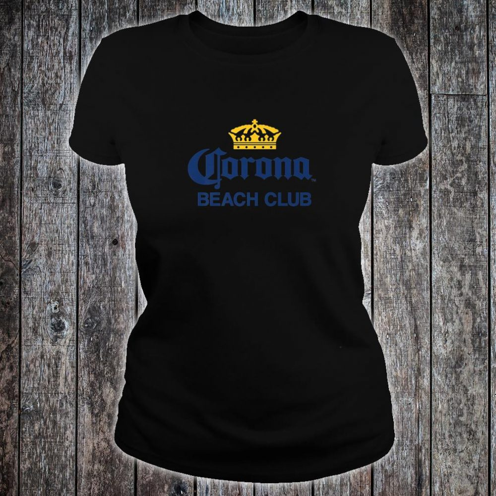 Cerveza Corona Logo With Crown Shirt ladies tee