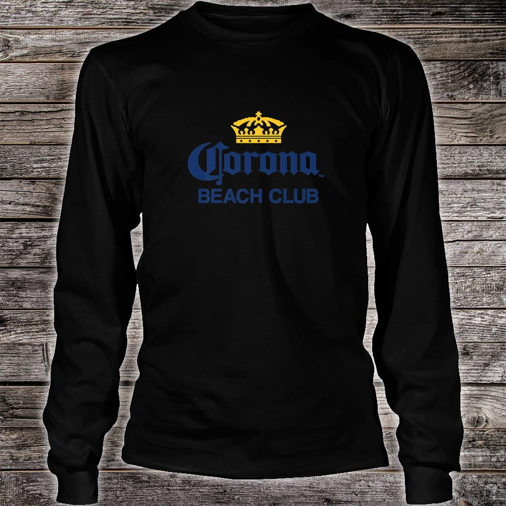 Cerveza Corona Logo With Crown Shirt long sleeved